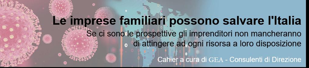 Le imprese familiari possono salvare l'Italia